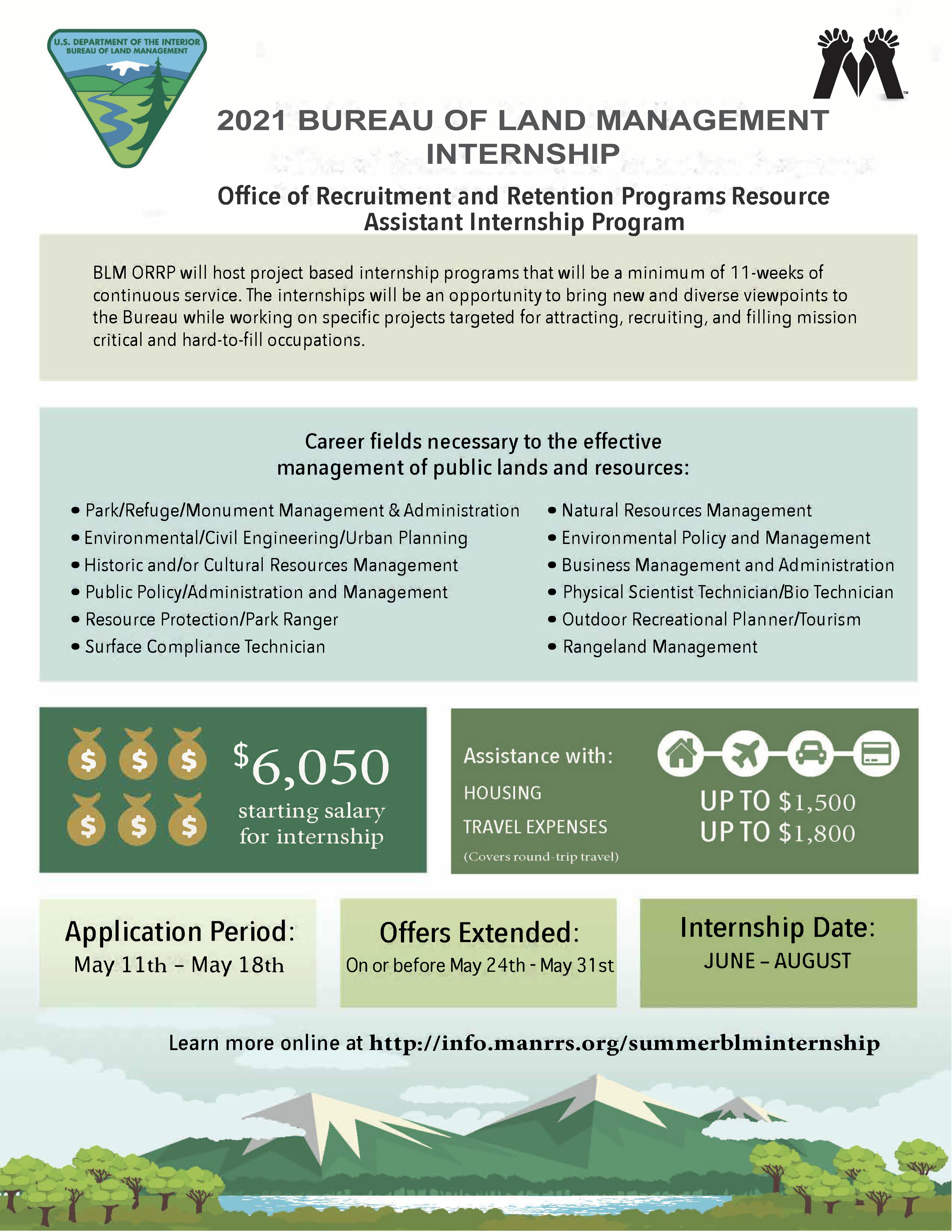 BLM 2021 Internship